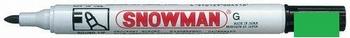 Snowman G-12 Permanent Marker 1-3 mm Groen