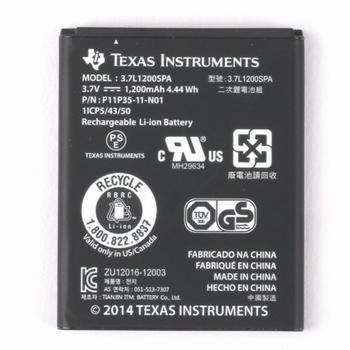 Oplaadbare Batterij voor rekenmachine Ti-84 Plus CE-T