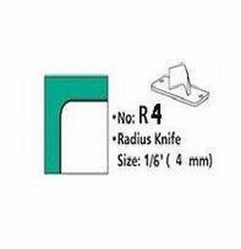 Rondhoekmes Regur Trimmit R-4 van 4.0 mm