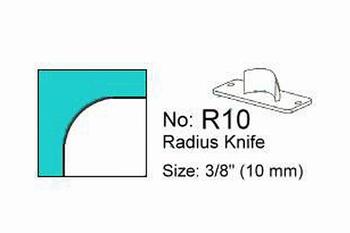 Rondhoekmes Regur Trimmit R-10 van 10.0 mm