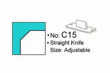 Rondhoekmes Regur Trimmit C-15 van 15.0 mm