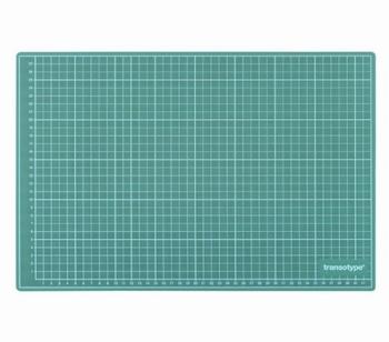 Transotype Snijmat Groen A3  450 x 300 x 3 mm