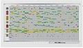 PROFESSIONAL jaarplanner 75 items 100x200cm