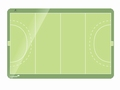 ACCENTS Linear whiteboard - Hockey