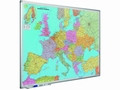 Wand- / Landkaart Softline profiel 8mm Europa