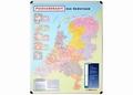 Nobo magnetische wandkaart Postcodekaart Nederland