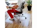 Stoelmat Q-Connect PVC 90x120cm voor harde vloeren
