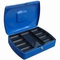 Geldkist TS0110 blauw 330x235x90mm
