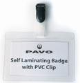 Badges zelf laminerend 54x90 mm  25 stuks