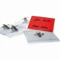 Badges met combi-clip 57x91 mm  50 stuks