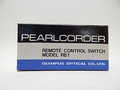 Olympus Pearlcorder Remote Control Switch Model RB1