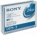 Sony DGD125P - Tape, 4mm DDS-3, 125m, 12/24GB