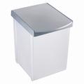 Inzamelbox Helit voor recyclebare stoffen 20L grijs - grijs