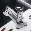 EL Casco M10 CG  luxe nietmachine groot Chroom / Grijs