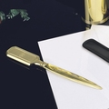 EL Casco M650 L luxe briefopener 23 krt Gold plated