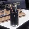 EL Casco M651 CN luxe pennenbeker Zwart / Chroom