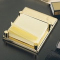 EL Casco M671 L luxe post-it memoblokhouder Gold plated