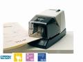 Nietmachine elektrisch Rapid 100 66/6-8 50vel zwart/wit
