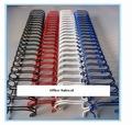 Draadkam metaal 9.5 mm (3:1) 34-rings  100 stuks ( kleuren )